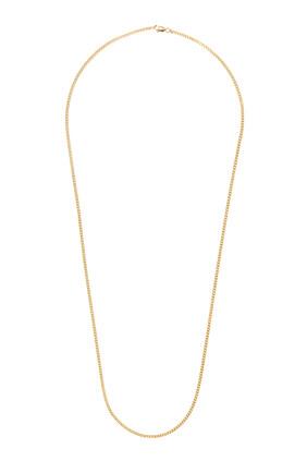 Cuban Chain in Gold Vermeil