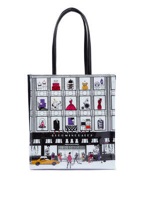 Little NY Storefront Tote Bag