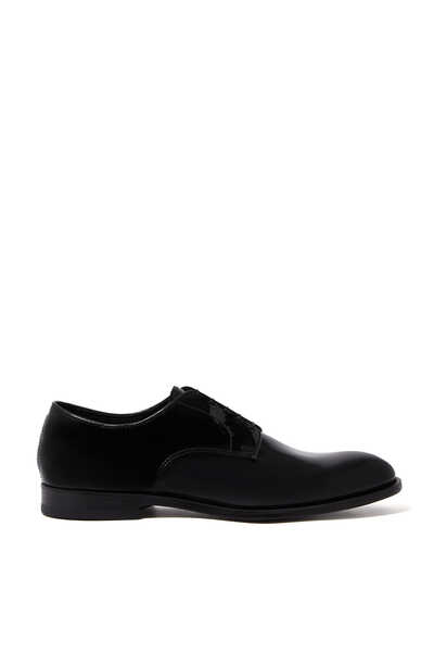 York Patent Leather Derby Shoes