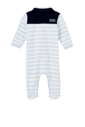 Striped Logo Pyjama
