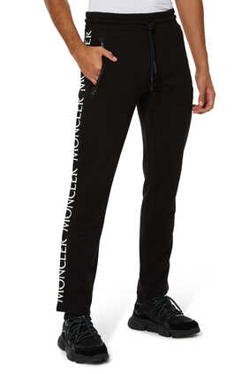 Cotton Logo Jogging Pants