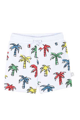 Doodly Palms Organic Cotton Shorts
