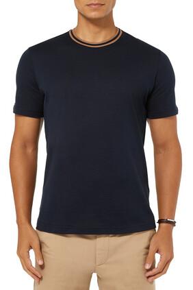 Jersey Collar T-Shirt