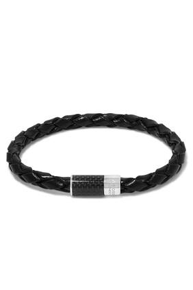 Carbon Leather Bracelet