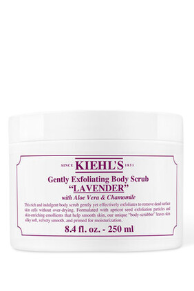 Gently Exfoliating Lavender Body Scrub