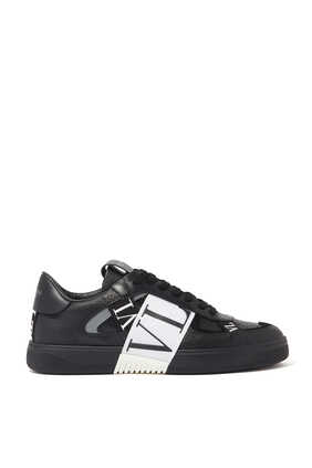 Valentino Garavani VL7N Leather and Suede Sneakers