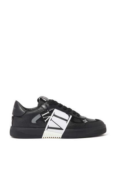 Valentino Garavani VL7N Leather and Suede Sneakers