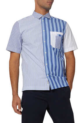 Thor Striped Poplin Shirt