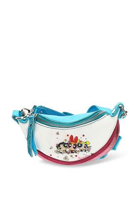 Powerpuff Girls Leather Belt Bag