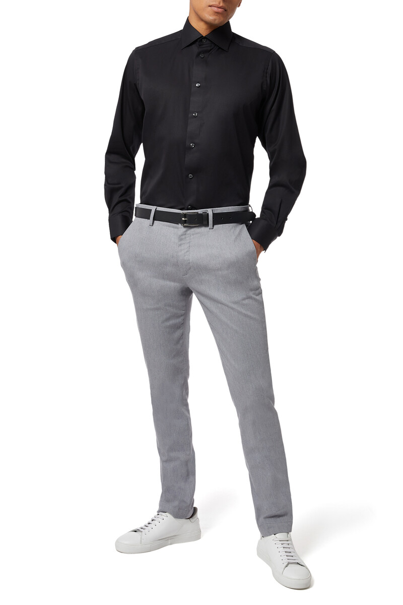 Contemporary Fit Signature Twill Shirt image number 2