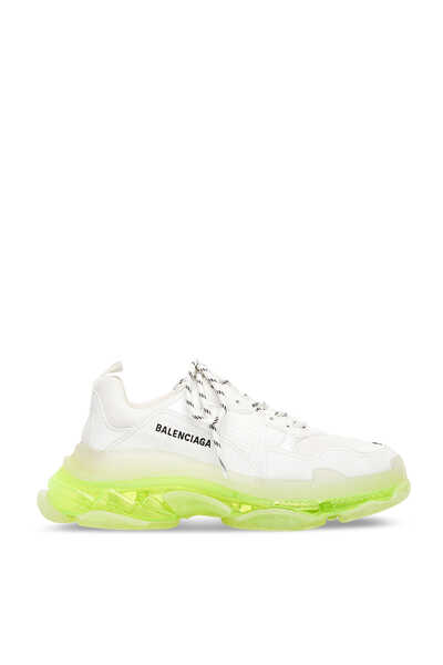 Triple S Clear Sole Sneakers