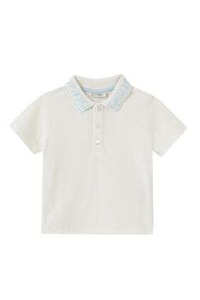 FF Collar Cotton Polo Shirt
