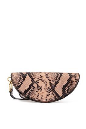 Evy Python Print Leather Bag