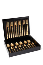 CT Cut/Set 24pcs Duna Gld Brshd