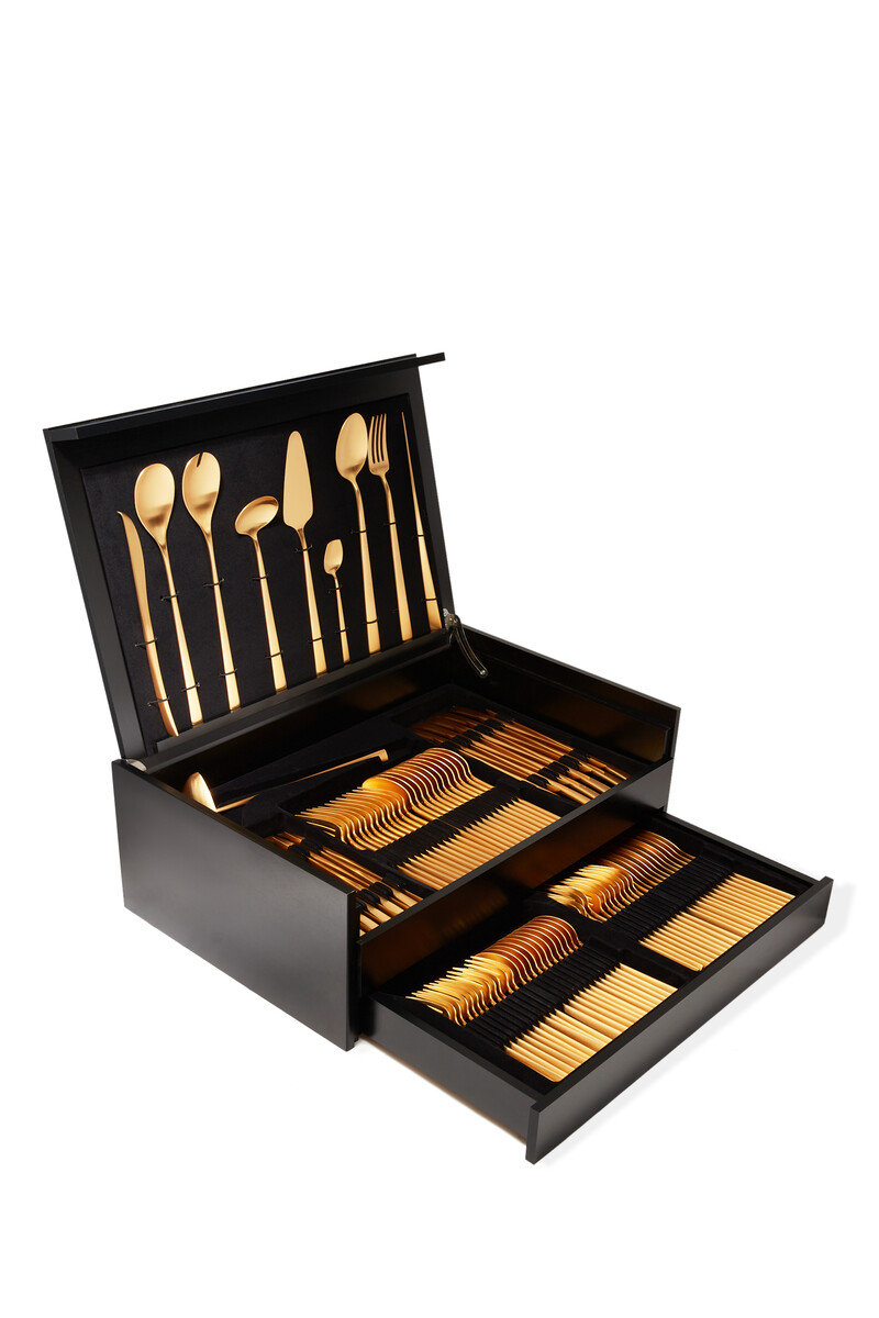 Duna 130 Piece Cutlery Set image number 1