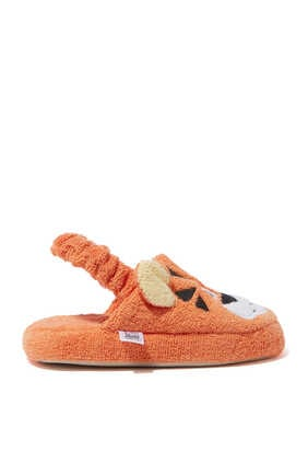 Tiger Cotton Slippers