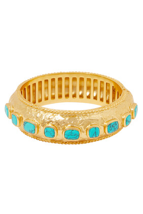 Gaia Turquoise Bangle
