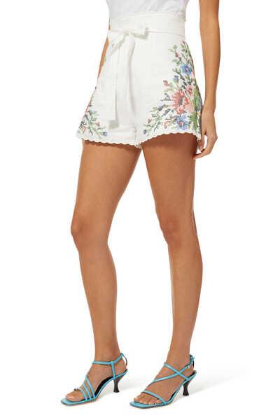Juliette Cross Stitch Shorts