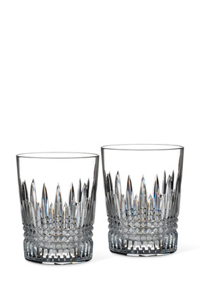 Lismore Diamond Tumbler Glasses Set of Two