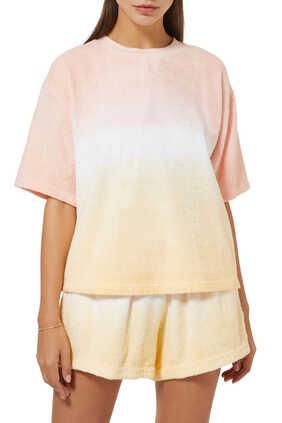 Tie Ombre Cotton T-Shirt