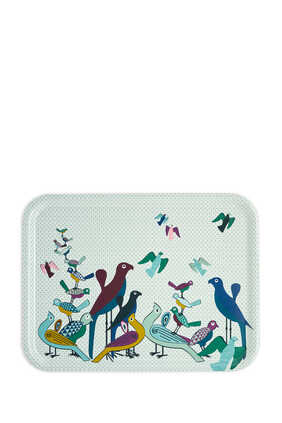Birds of Paradise Rectangular Tray
