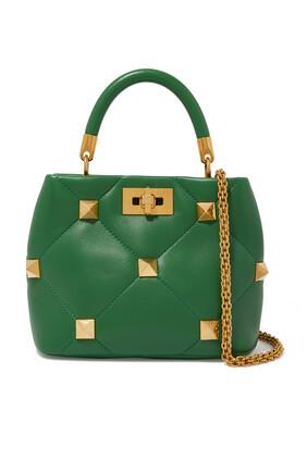 Valentino Garavani Roman Stud Top Handle Bag