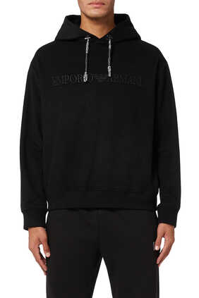 EA Text Hooded Jersey Sweatshirt