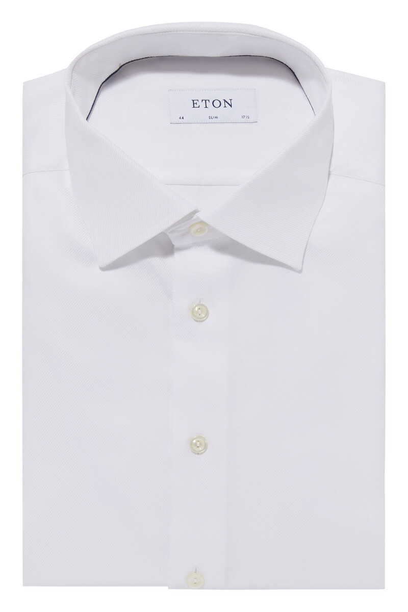 Slim Fit Signature Twill Shirt image number 5