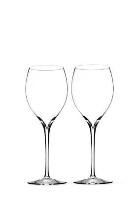 Elegance Chardonnay Crystal Wine Glass Set of Two