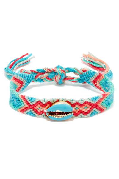 Charm Braided Friendship Bracelet