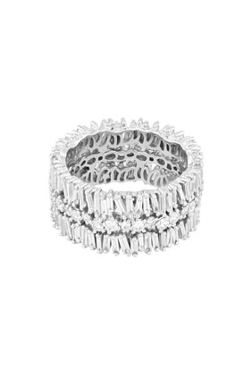 Layered Eternity Ring