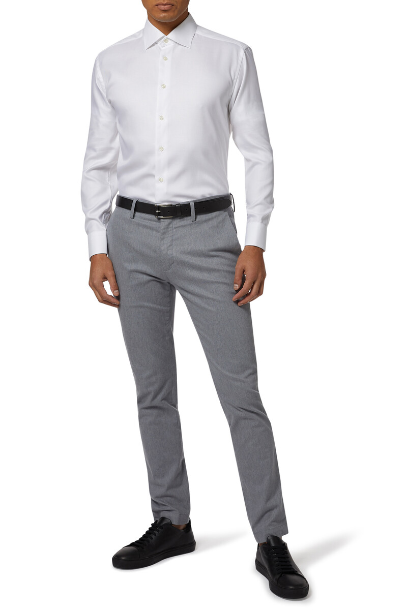 Slim Fit Signature Twill Shirt image number 2