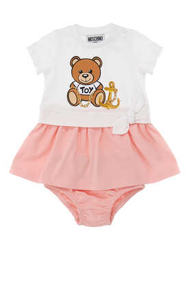 Teddy Bear Logo Dress