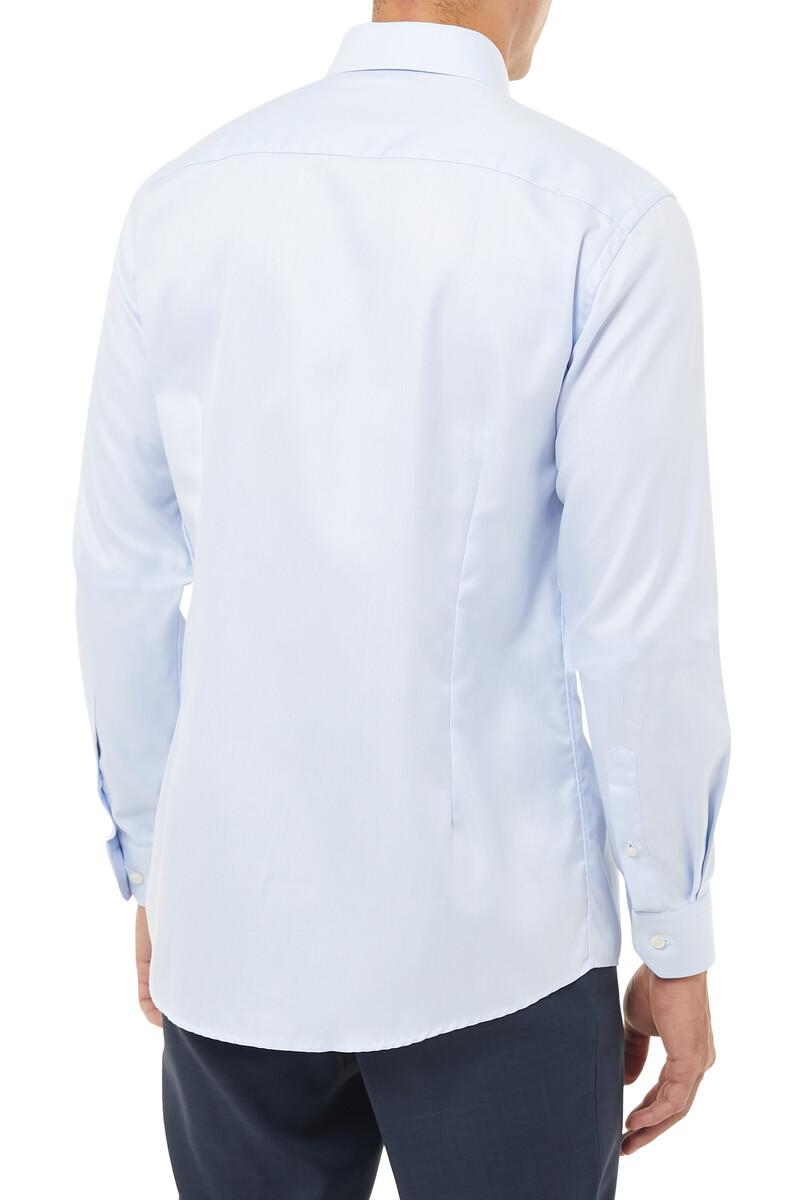 Slim Fit Signature Twill Shirt image number 3