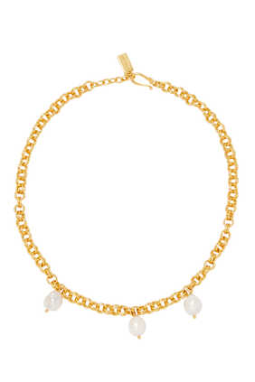 Exclusive Jewel Necklace Pearl