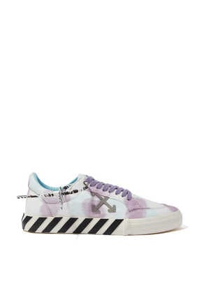 Tie Dye Low Vulcanized Sneakers