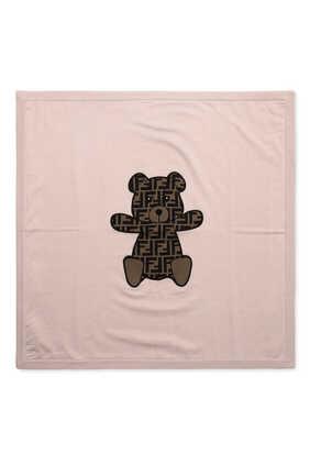 FF Bear Logo Blanket