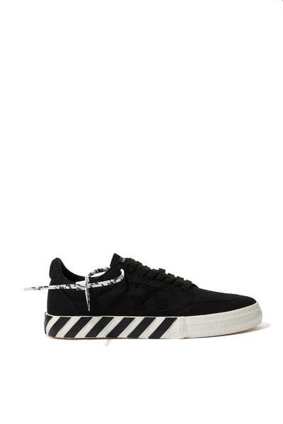 Vulcanized Low-Top Platform Sneakers
