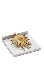 Palm Dinner Napkin Holder