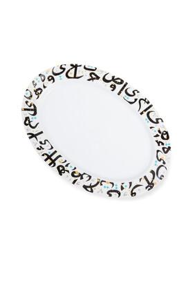 Tarateesh Large Oval Platter