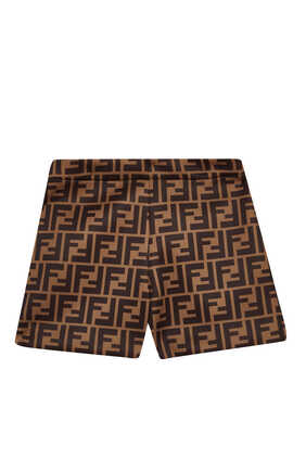 FF Monogram Pattern Shorts