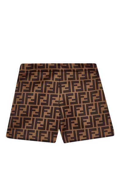 FF Monogram Pattern Shorts