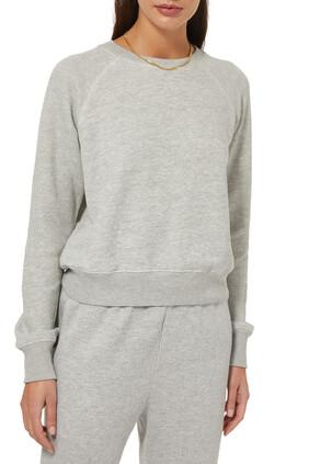 Classic Raglan Crewneck Sweatshirt