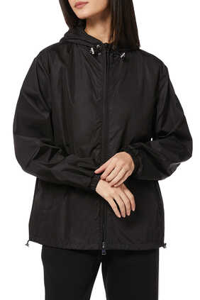Alexandrite Nylon Hooded Jacket