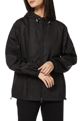 Alexandrite Nylon Hooded Jacket
