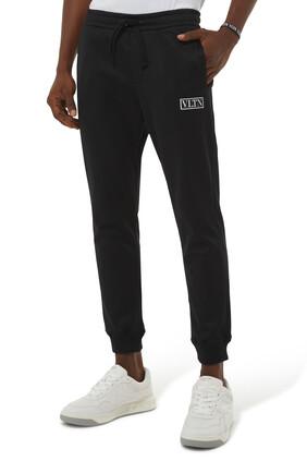 VLTN Tag Technical Cotton Pants
