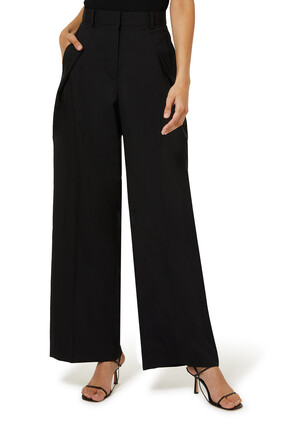 High-Rise Wide Leg Pants