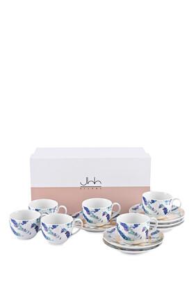 Fairuz Turkish Coffee Cups, Set of Six