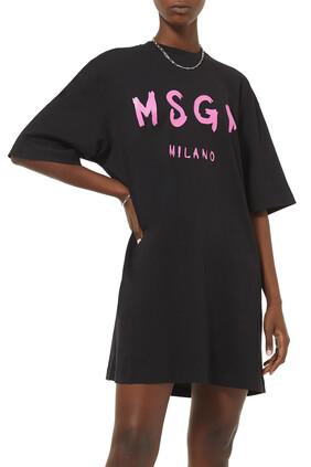 Abito Logo T-Shirt Dress