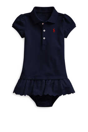 Polo Dress & Bloomer Set